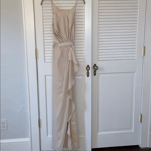 White by Vera Wang Bridesmaid Dress